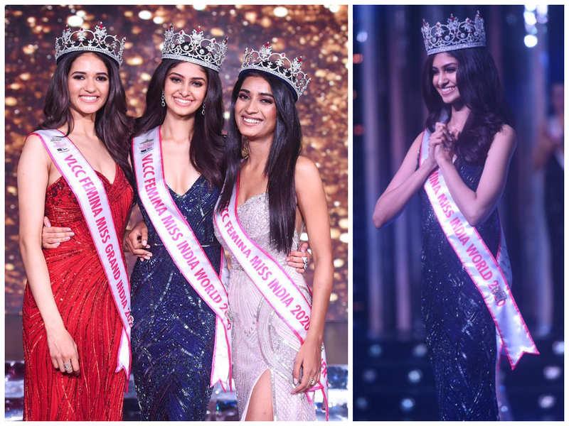 My win is the result of hard work, determination and self-belief: Manasa Varanasi, VLCC Femina Miss India World 2020