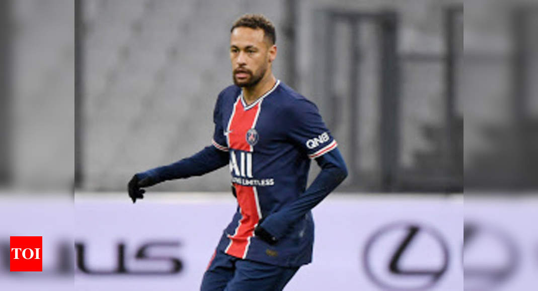 Neymar Injury Update: Injured Neymar out of PSG's Champions League clash with Barcelona   Football News – Times of India