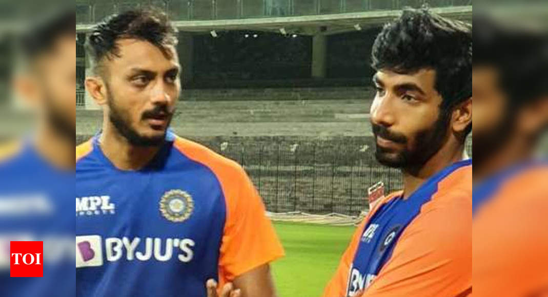 India vs England: Axar Patel available for selection, Washington up against Kuldeep for third spinner's slot | Cricket News – Times of India