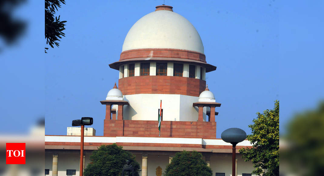 Custodial death not acceptable, is crime against society: Supreme Court | India News – Times of India