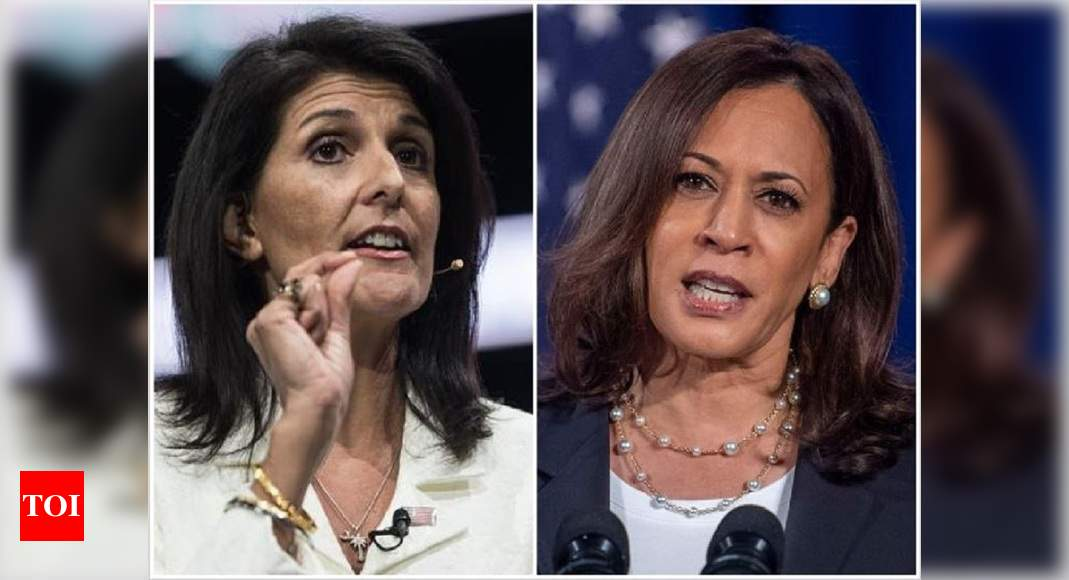 Nikki Haley and Kamala Harris vying for White House in 2024? - Times of India