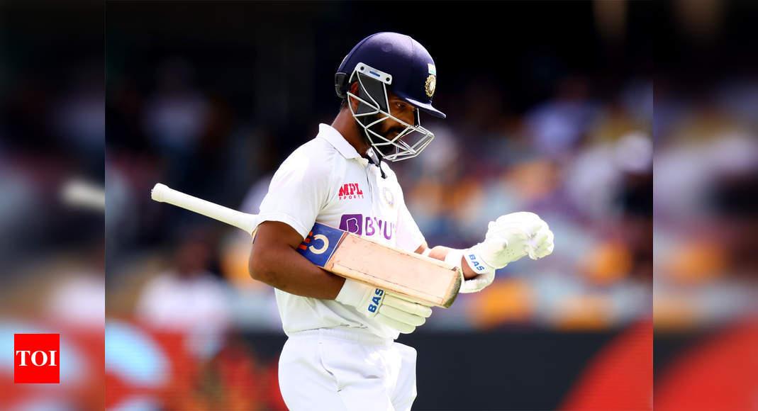 India vs England: Ajinkya Rahane's home record a slight concern | Cricket News – Times of India