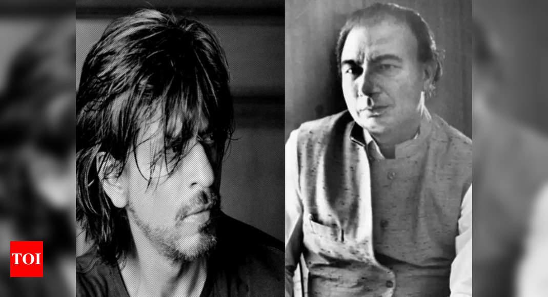 Exclusive! Sahir Ludhianvi biopic: Shah Rukh Khan to play the legendary poet-lyricist? - Times of India