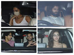 Pic: Deepika, Vijay party it up at KJo's bash