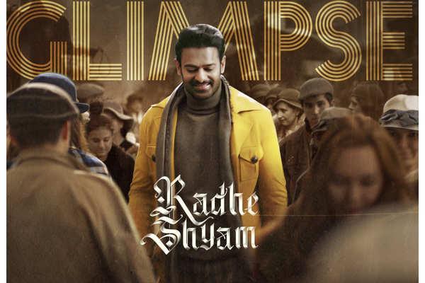 Watch Prabhas' romantic 'Radhe Shyam' teaser