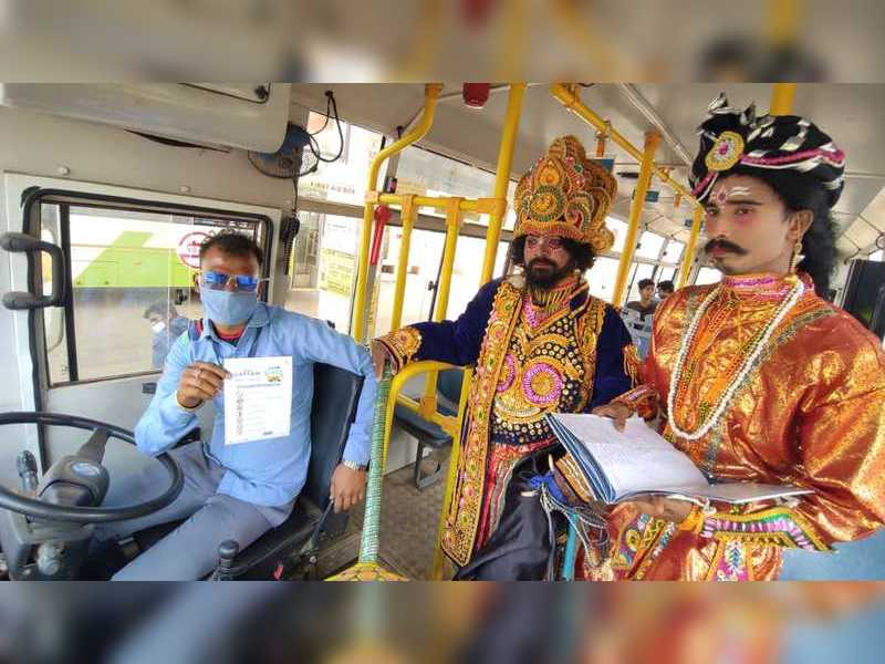 MoBus goes innovative to create awareness about road safety