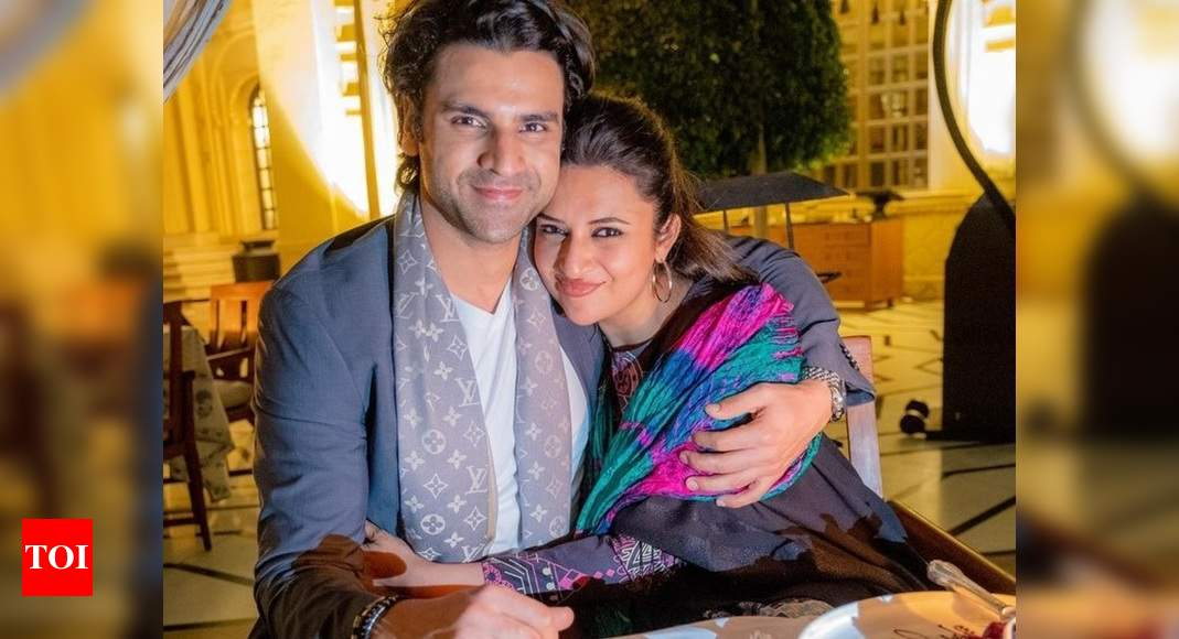 Exclusive! Divyanka Tripathi-Vivek Dahiya: Our baby will get confused because we both call each other 'Ba - Times of India