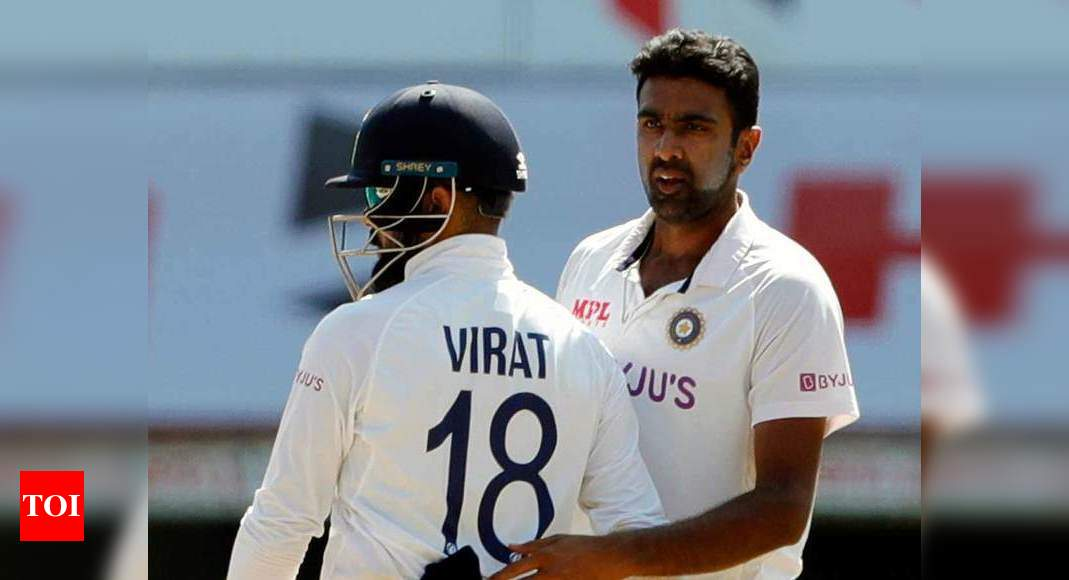 Ashwin first bowler to dismiss left-handers 200 times in Tests | Cricket News – Times of India