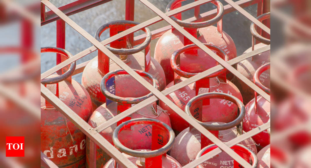 Price of LPG cylinder hiked by Rs 50, to cost Rs 769 in Delhi | India News – Times of India