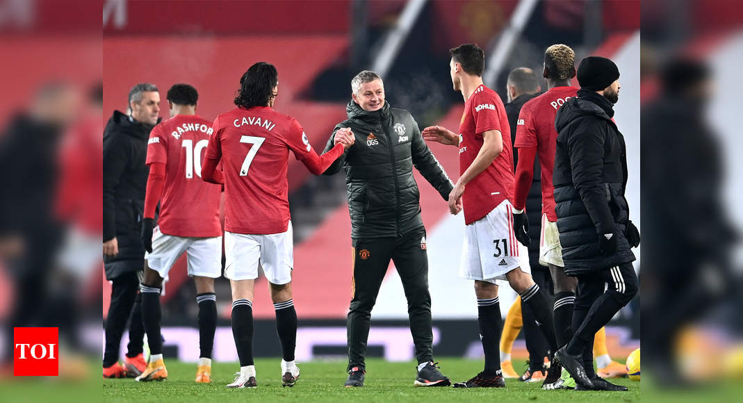 'We're not settling for second,' say defiant Manchester United | Football News – Times of India