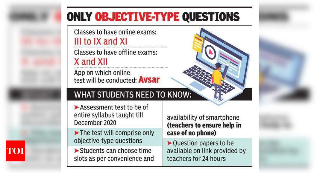 Haryana examination 2021: On-line exams for presidency colleges to start at this time – Times of India