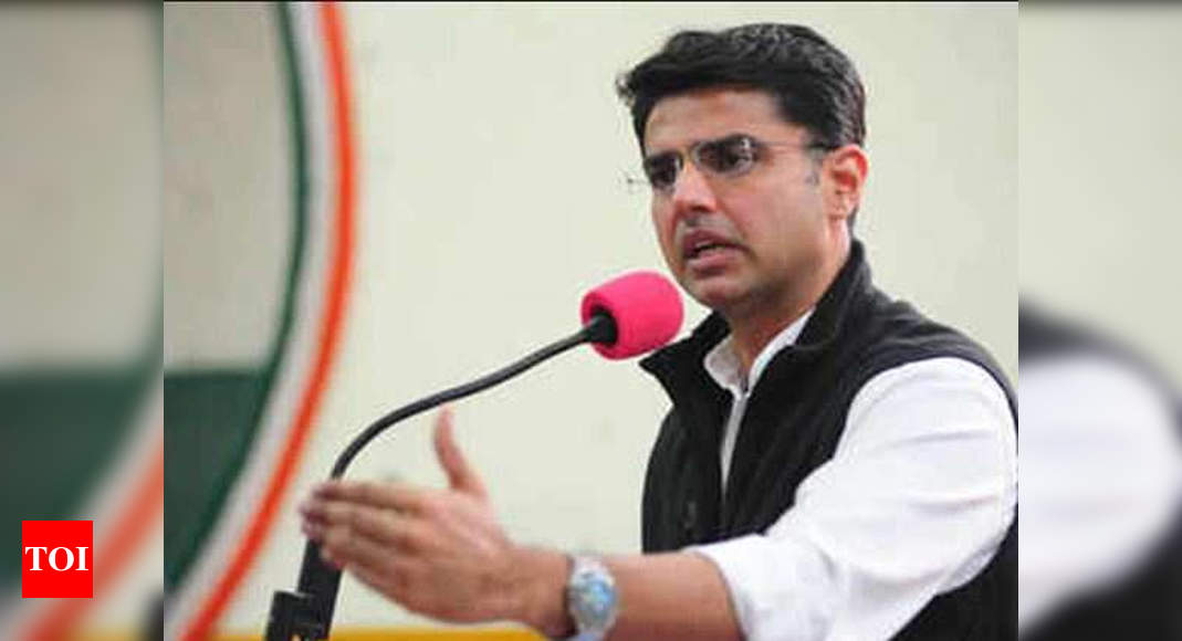 Priyanka's close aide flags Pilot's removal from dais at Rahul's rally   India News – Times of India