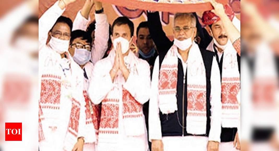 Will oppose CAA tooth and nail: Rahul Gandhi at Sivasagar rally | Guwahati Information – Times of India
