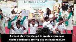 To improve Benglauru's performance in Swacch Survekshan, a street play was performed to create awareness about waste segregation
