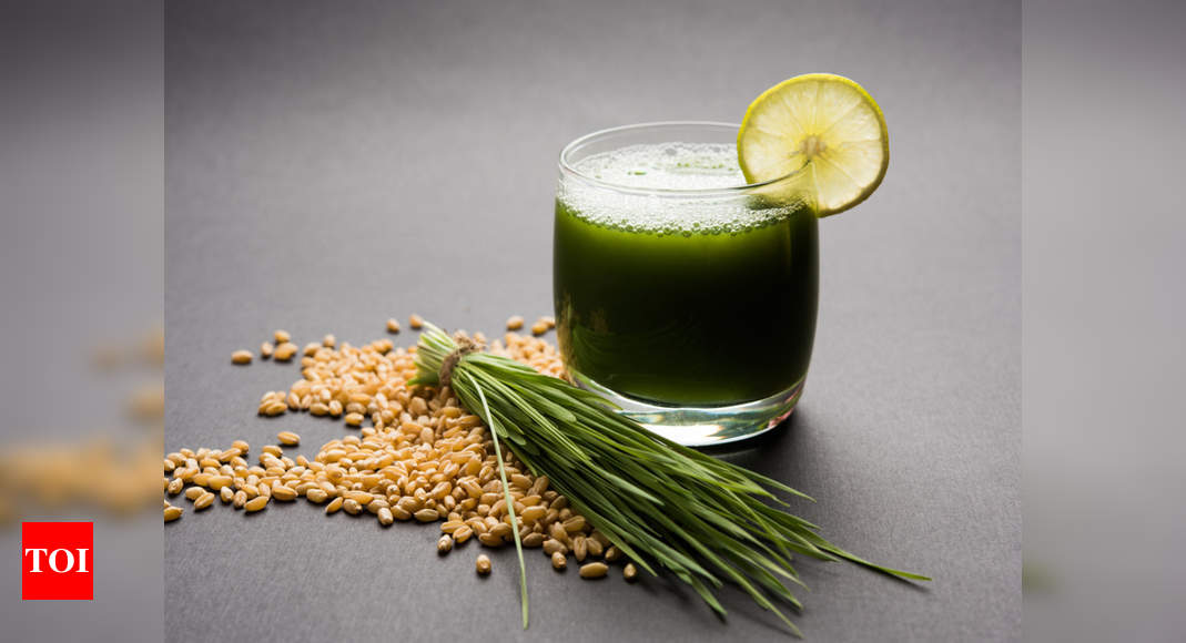 Wheatgrass: Benefits and the best way to consume - Times of India