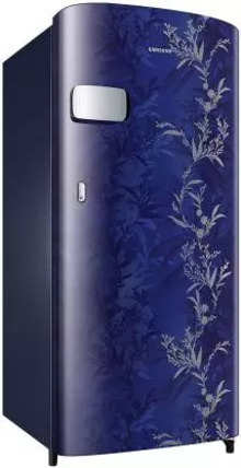 Samsung Single Door 192 Litres 1 Star Refrigerator Mystic Overlay Blue RR19A2YCA6U
