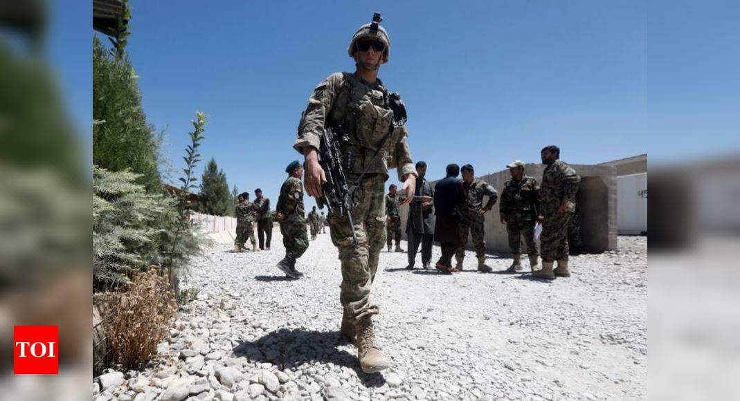 NATO will not leave Afghanistan before 'time is right' – Times of India