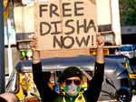 'Toolkit' case: Activists hold protest against Disha Ravi's arrest