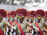 Glimpses from Republic Day parade at Red Road