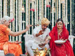 New pictures from Bollywood actress Dia Mirza's wedding
