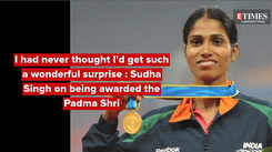 I had never thought I'd get such a wonderful surprise: Sudha Singh on being awarded the Padma Shri