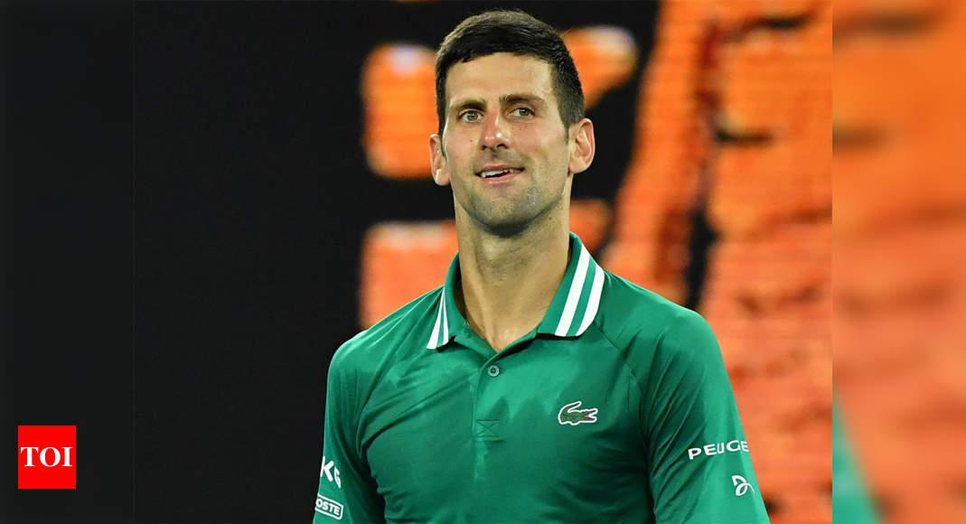 Injured Djokovic slams quarantine, suggests NBA-style 'bubble' tennis season | Tennis News – Times of India