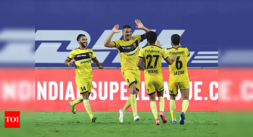 ISL: Ruthless Hyderabad send Kerala Blasters packing | Football News – Times of India
