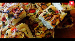 Watch: How to make Focaccia Bread