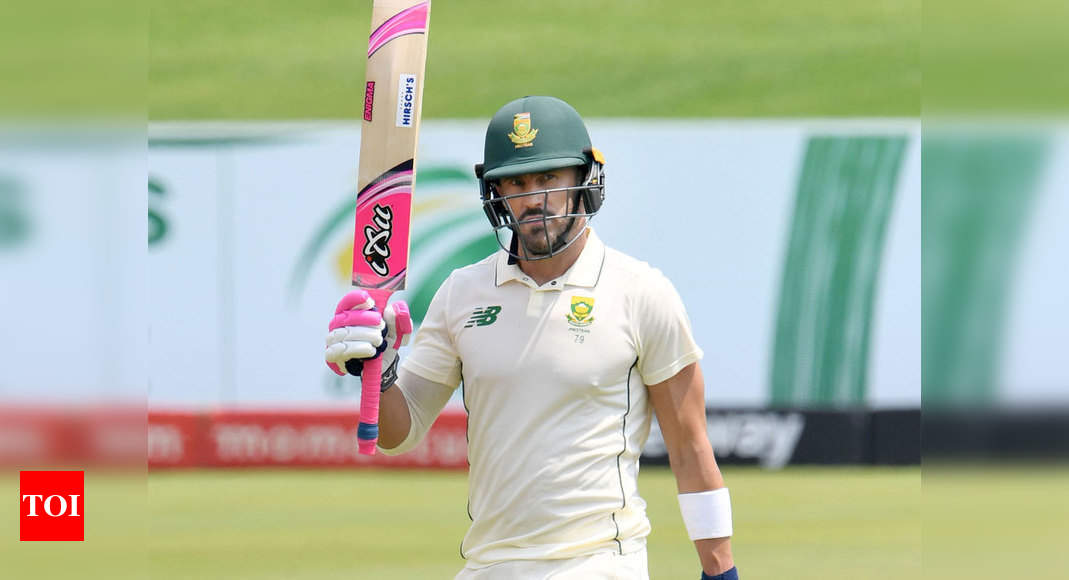 Faf du Plessis announces retirement from Test cricket, T20s become his priority - Times of India