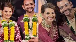 A sneak peek into Swapnali Patil and Aastad Kale's wedding festivities