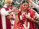 Unseen pictures from Bollywood actress Dia Mirza's wedding