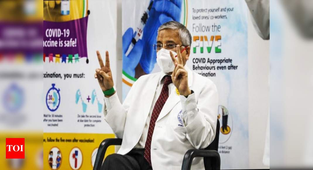 Covid-19 vaccine maybe available in open market by year end, says AIIMS director - Times of India