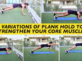 5 variations of plank hold to strengthen your core muscles