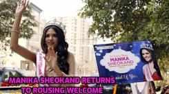 Manika Sheokand returns  home as VLCC Femina Miss Grand India 2020