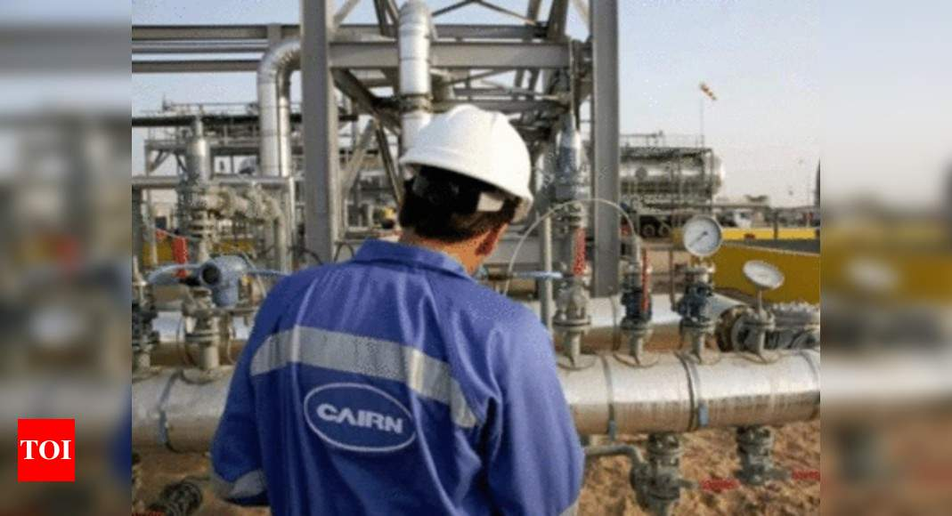 Government may challenge international tribunal's Cairn tax order - Times of India