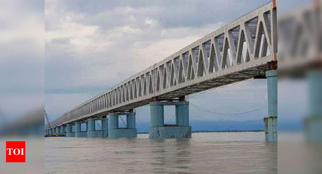 Mahabahu-Brahmaputra and two bridges: PM Modi launch key projects in Northeast - Times of India