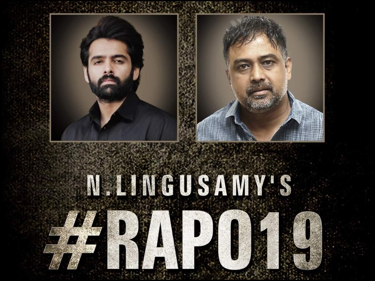 Ram Pothineni teams up with Lingusamy for a Telugu-Tamil bilingual | Telugu  Movie News - Times of India
