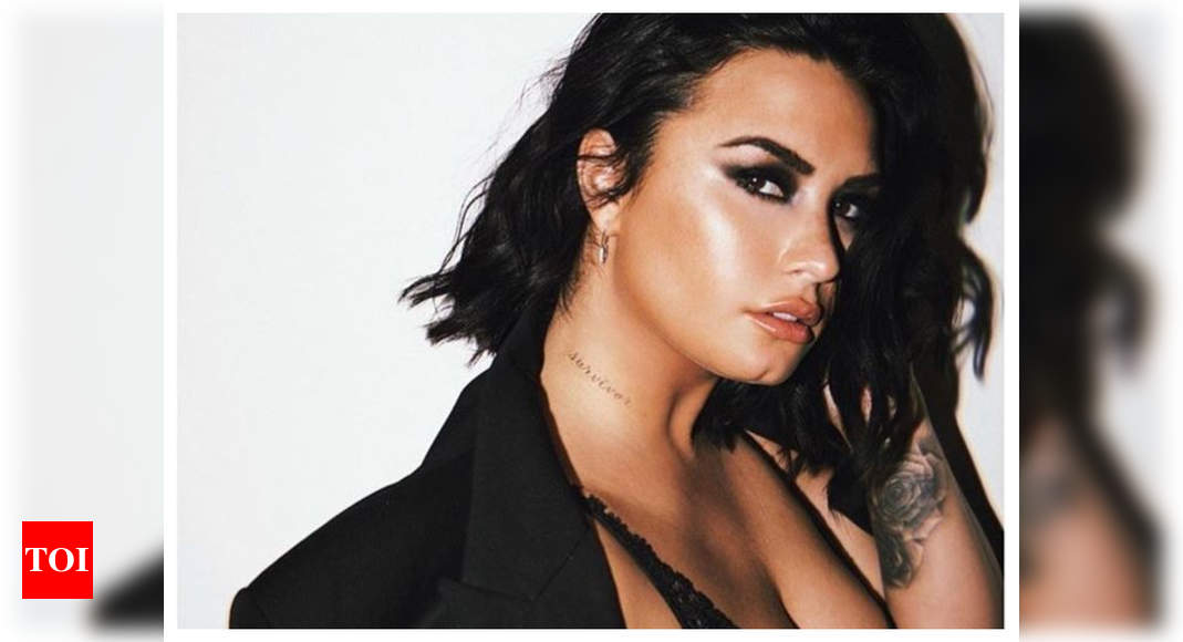 Demi Lovato opens up about drug overdose; says it caused 3 strokes, a heart attack and some brain damage - Times of India