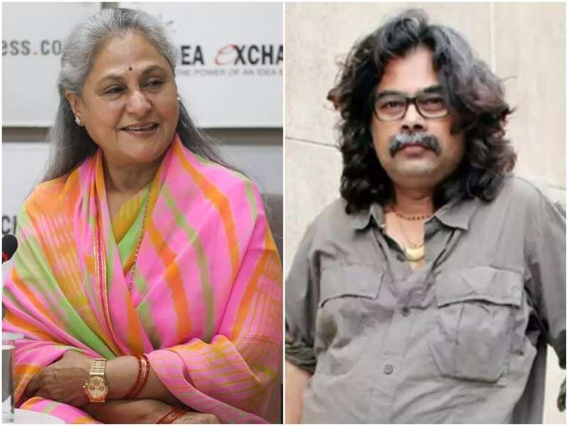 Jaya Bachchan and Gajendra Ahire