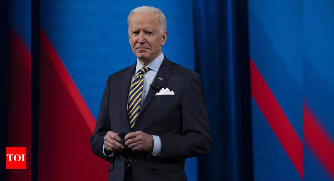 Biden renews 'Quad' with allies despite China pressure - Times of India