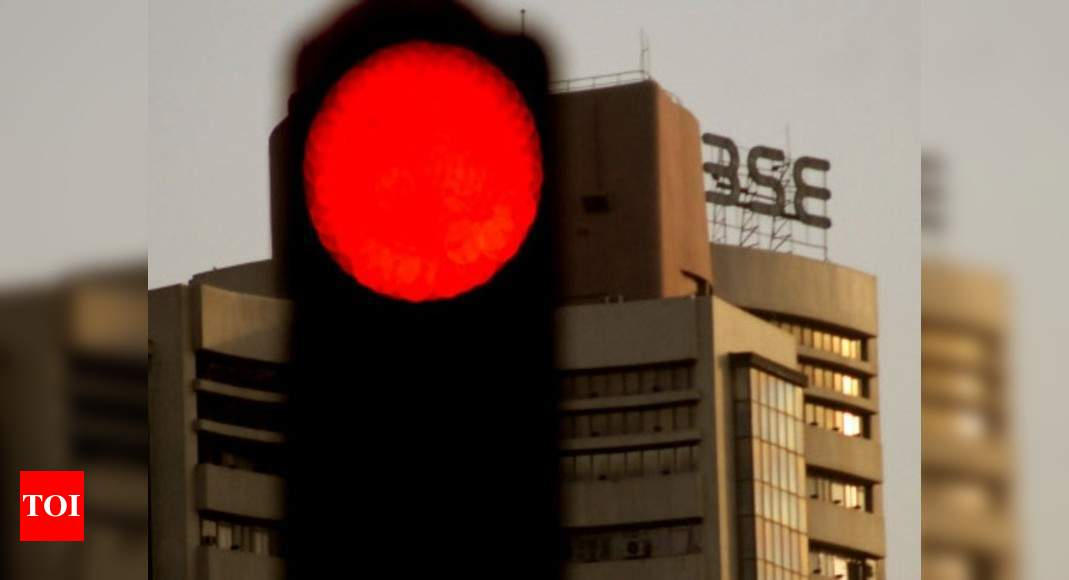 Sensex tumbles 379 points as financial, auto stocks drag; Nifty ends at 15,119 - Times of India