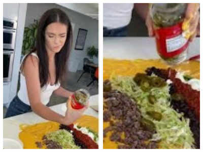 Unusual nacho hack goes viral, netizens are angry