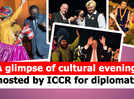 A glimpse of cultural evening hosted by ICCR for diplomats