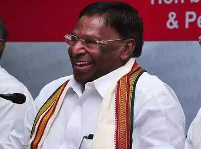 Puducherry CM Narayansamy will face the floor test on February 22 |  India News