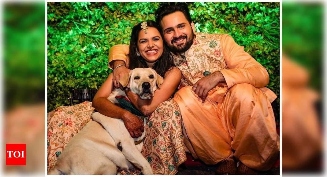 Siddharth Chandekar: Pets make for ultra glam baraatis at desi weddings