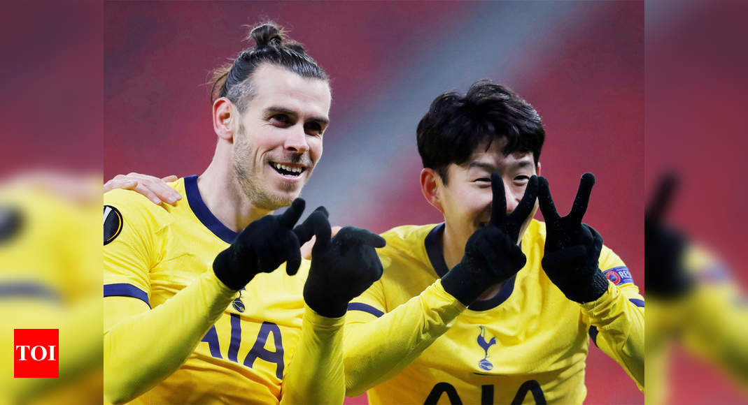 Europa League: Gareth Bale on target as Tottenham outclass ...