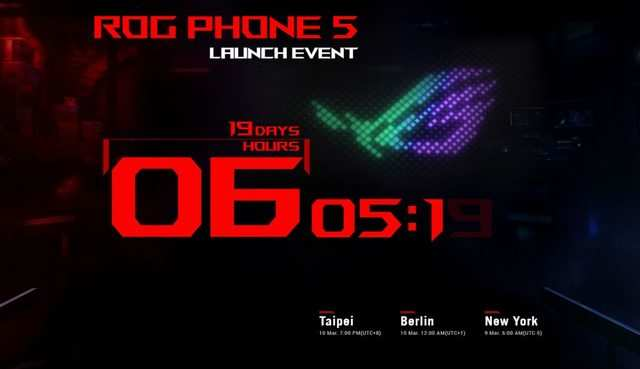 Most-powerful Asus ROG gaming phone to launch on March 10