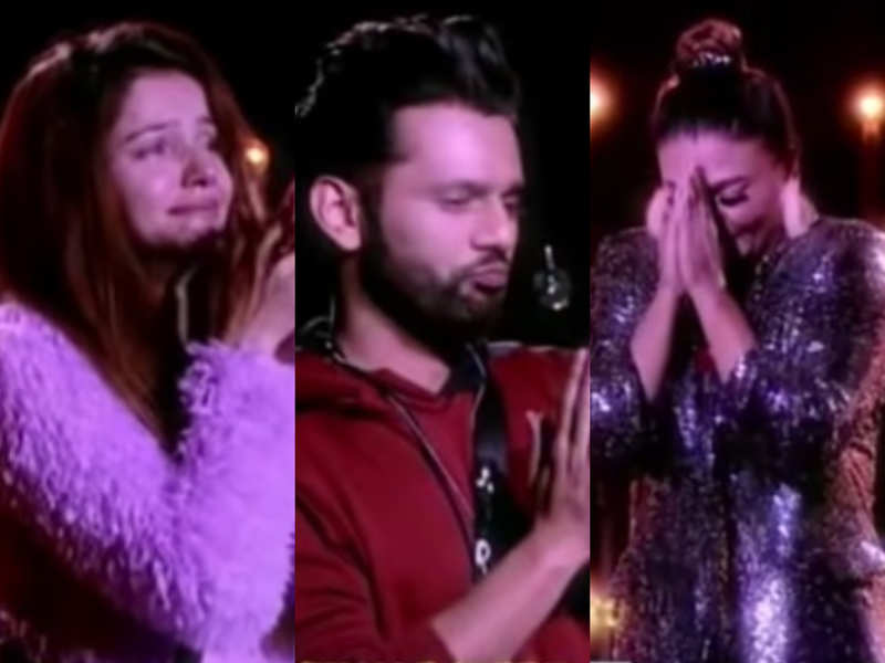 Bigg Boss 14: Contestants get emotional seeing their journey; Bigg Boss praises Rakhi Sawant for giving an identity to the show