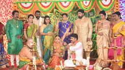 This marriage sequence in 'Sillunu Oru Kadhal' has a filmy twist