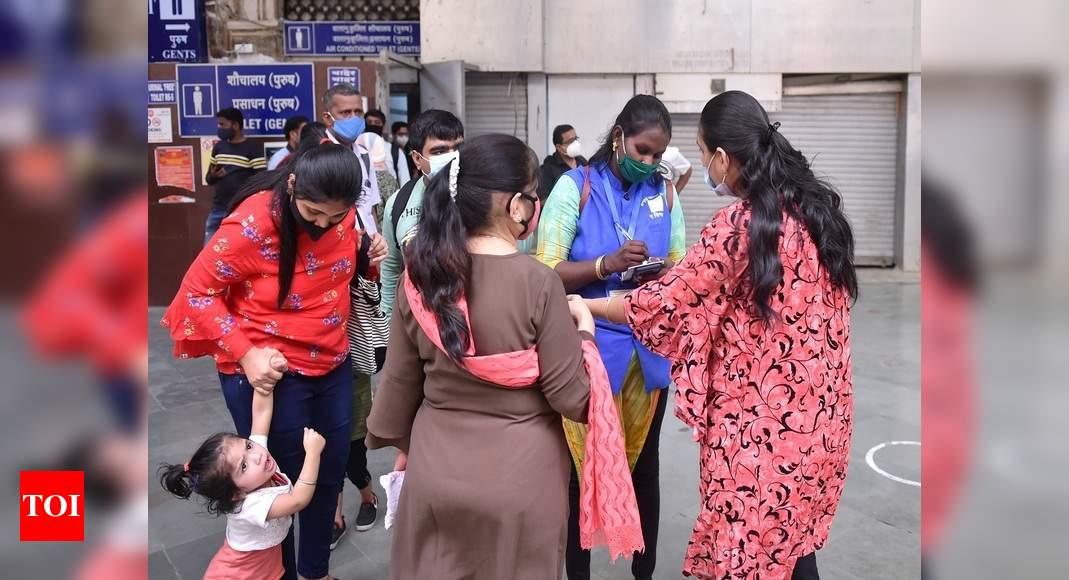 Mumbai Lockdown Bmc Seals 1 305 Buildings As Covid 19 Cases Surge In Mumbai Mumbai News Times Of India